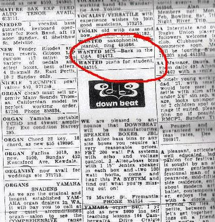 Sunday Times MC5 ad