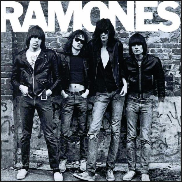 Ramones first album cover