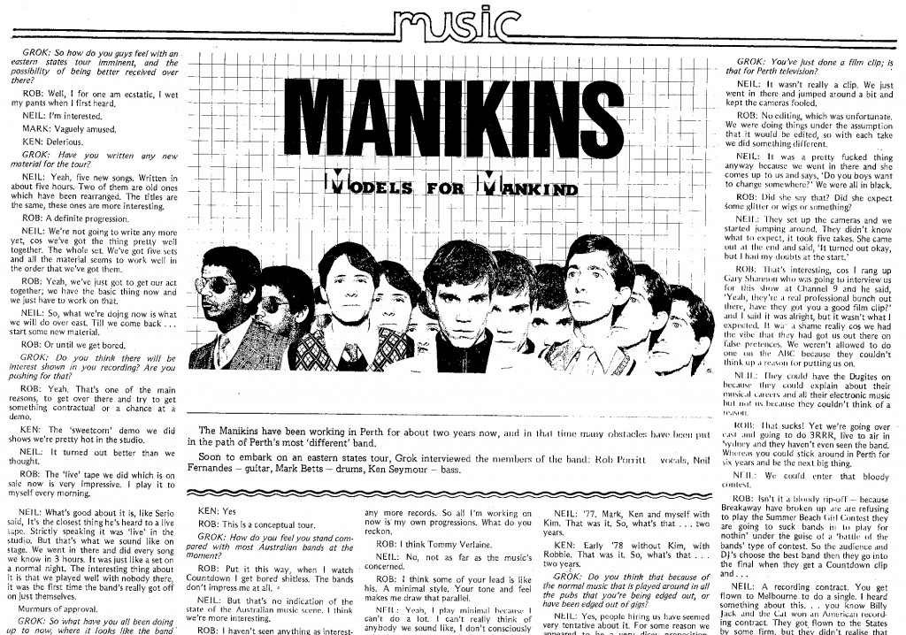 Manikins Grok interview