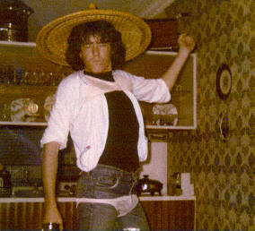 Max Kittler at party 1978