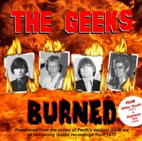 Geeks 'Burned' CD cover from i94Bar
