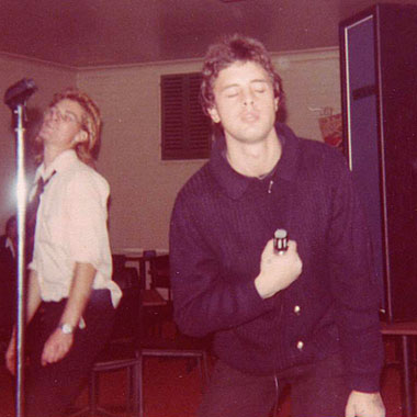 Billy Orphan channels Jim Morrison, Hernando's Hideaway, Perth, 1978