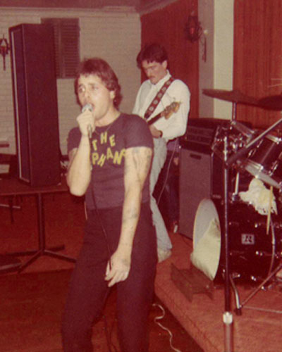 Billy Orphan and Colin Dowson, Hernando's Hideaway, Perth, 1978